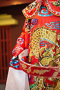 A Teochew Opera theme wedding shot at Hong San See Singapore. By thepeepingthom