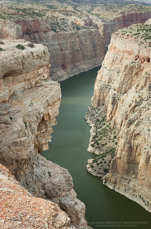 Bighorn Canyon seen from Devil Canyon Overlook, Bighorn Canyon National Monument Montana