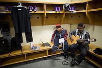 Tomi Martin backstage during Justin Bieber's My World Tour.  (MANDATORY CREDIT:  Robert Caplin / PSG)  **EXCLUSIVE : DOUBLE SPACE RATES APPLY.  CALL 646.325.3221 PRIOR TO PUBLICATION**......... Tomi Martin<br />