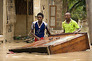 Dar es Salaam, Tanzania - 13APR14 -  Flooding in the Tabata area of Dar es Salaam, Tanzania on April 13, 2014. Photo by Daniel Hayduk