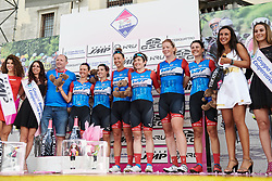 WNT Rotor Pro Cycling are the best team after Stage 10 of 2019 Giro Rosa Iccrea, a 120 km road race from San Vito al Tagliamento to Udine, Italy on July 14, 2019. Photo by Sean Robinson/velofocus.com