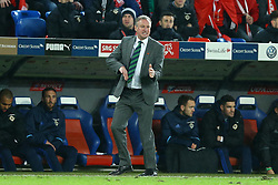 November 12, 2017 - Basel, Switzerland - Northern Ireland coach Michael O Neill  during the FIFA 2018 World Cup Qualifier Play-Off: Second Leg between Switzerland and Northern Ireland at St. Jakob-Park on November 12, 2017 in Basel, Basel-Stadt. (Credit Image: © Matteo Ciambelli/NurPhoto via ZUMA Press)