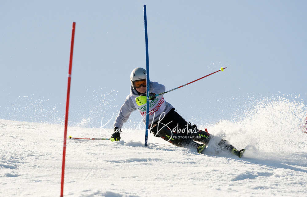 J1 J2 Lafoley Slalom at Gunstock March 7, 2010.