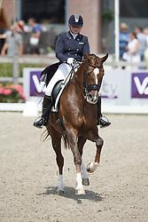 Te Riele Antoinette, (NED), Pimpernel<br /> Equine MERC Young Riders Team Test<br /> Dutch Championship Dressage - Ermelo 2015<br /> © Hippo Foto - Dirk Caremans<br /> 17/07/15