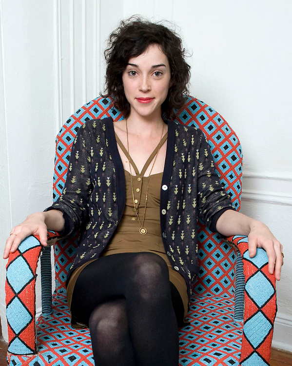 Recording artist St Vincent (aka Annie Erin Clark) photographed in her Manhattan apartment