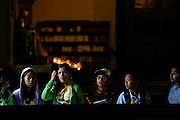 Students tour San Gabriel Mission in San Gabriel, Calif., May 14. The fourth-grade California history curriculum looks at the social, political, cultural, and economic life of the mission period. © 2015 Nancy Wiechec