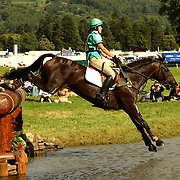 Coral Keen (GBR) and Serious Opposition at the 2007 Blair Horse Trials held in Blair Atholl, Scotland