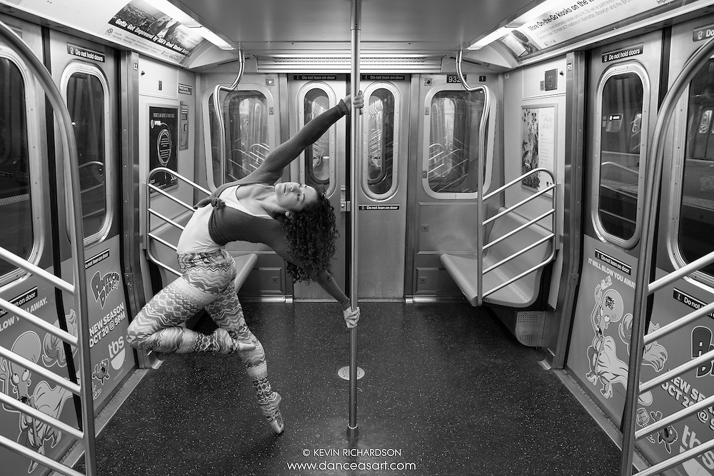 New York City Subway Dance As Art Photography with Micaela Mamede