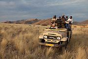 Ruimte, Khomas farm. Hunters. Namibia