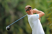 Nicolas Colsaerts during the third round of the World Golf Championship Cadillac Championship on the TPC Blue Monster Course at Doral Golf Resort And Spa on March 10, 2012 in Doral, Fla. ..©2012 Scott A. Miller.
