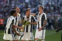21.05.2017 - Torino Juventus Stadium -  Festa e premiazione scudetto 2016-17  nella  foto: Claudio Marchisio