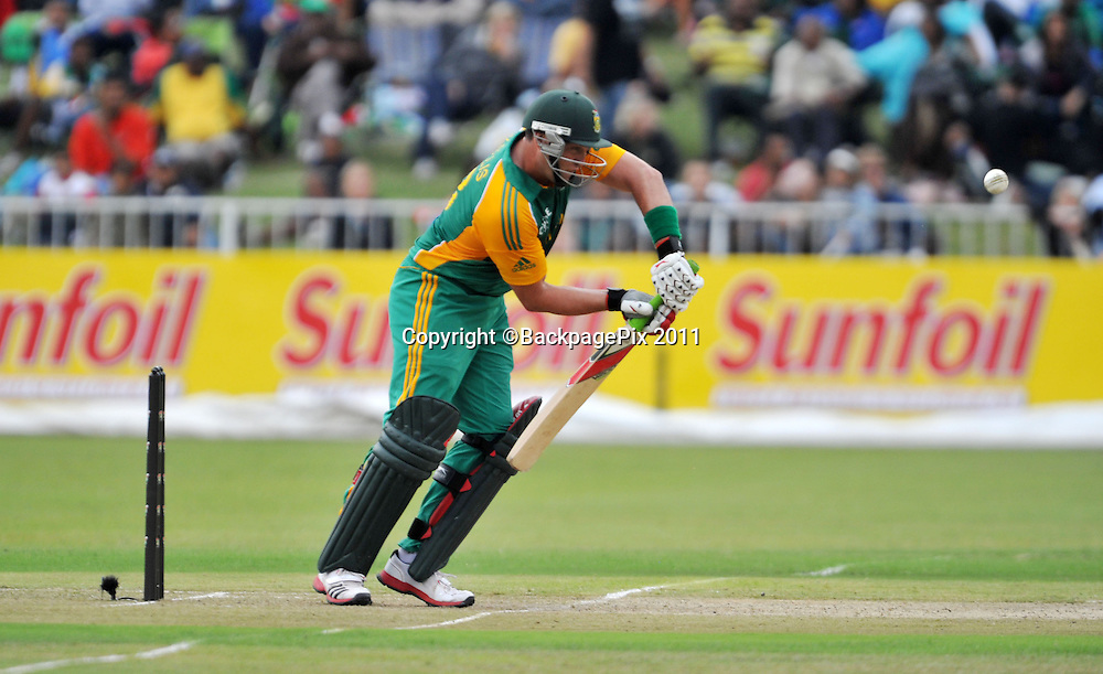 Jacques Kallis , South Africa Cricket - 2011 One Day International - South Africa v Australia - Kingsmead Stadium - Durban<br /> <br /> &copy; Sabelo Mngoma/BackpagePix