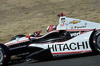 Helio Castroneves, Sonoma Raceway, Sonoma, CA USA 8/24/2014