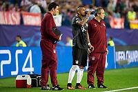 Bayern Munich's player Arturo Vidal during match of UEFA Champions League at Vicente Calderon Stadium in Madrid. September 28, Spain. 2016. (ALTERPHOTOS/BorjaB.Hojas)