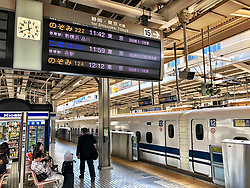 17-10-2018 JPN: World Championship Volleyball Women day 18, Yokohama<br /> Travel day from Nagoya to Yokohama for the semi finals and around Nagoya and Yokohama day and night life