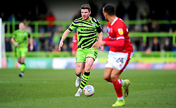 Chris Stokes of Forest Green Rovers in action- Mandatory by-line: Nizaam Jones/JMP - 08/02/2020 - FOOTBALL - New Lawn Stadium - Nailsworth, England - Forest Green Rovers v Walsall - Sky Bet League Two