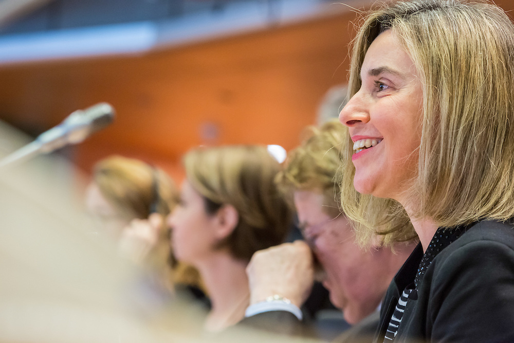 AFET Committee Meeting. Exchange of views with VP/HR Federica MOGHERINI on the conflicts in the MENA region and the refugee crisis.