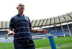 November 23, 2018 - Rome, Italy - Rugby Italy captains run - Cattolica Test Match.Italy head coach Conor O Shea at Olimpico Stadium in Rome, Italy on November 23, 2018. (Credit Image: © Matteo Ciambelli/NurPhoto via ZUMA Press)