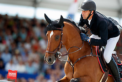 Staut Kevin, FRA, For Joy van't Zorgvliet Hdc<br /> Rolex Grand Prix CSI 5* - Knokke 2017<br /> © Dirk Caremans<br /> 09/07/17