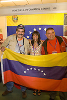 Baljeet Ghale and Venezuelan guests at the TUC, Brighton 2007...© Martin Jenkinson, tel 0114 258 6808 mobile 07831 189363 email martin@pressphotos.co.uk. Copyright Designs & Patents Act 1988, moral rights asserted credit required. No part of this photo to be stored, reproduced, manipulated or transmitted to third parties by any means without prior written permission