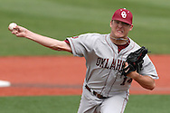 Oklahoma pitcher Andrew Doyle pitched 2/3's of an inning against Kansas State at Tointon Stadium in  Manhattan, Kansas, April 22, 2007.  Oklahoma defeated Kansas State 12-4.