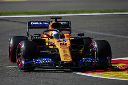 August 30, 2019, Spa-Francorchamps, Belgium: Motorsports: FIA Formula One World Championship 2019, Grand Prix of Belgium, ..#55 Carlos Sainz jr. (ESP, McLaren F1 Team) (Credit Image: © Hoch Zwei via ZUMA Wire)