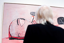 Artist, John Baldessari, speaks about contempary art at The Metropolitan Museum of Art for Artist Project 2015 episode. © 2014 MMA, photographed by Jackie Neale
