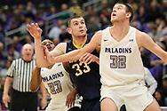 January 18, 2018 - Greenville, South Carolina - Timmons Arena: ETSU forward Mladen Armus (33)<br /> <br /> Image Credit: Dakota Hamilton/ETSU