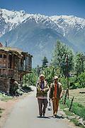 Local people of Kalpa Village, Kinnaur