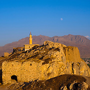 The Van Castle (or fortress, also called the Van Kalesi), rises in ruins atop a hill. Built in the 9th Century B.C. by King Sarduri I of the Urartu Kingdom, the fortress was essential for regional control. Of great historical significance, the fortress includes a massive inscription by Xerxes the Great in three languages:  Old Persian, Babylonian, and Elamite.