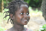Africa, Ethiopia, Omo region, Ari Tribe child