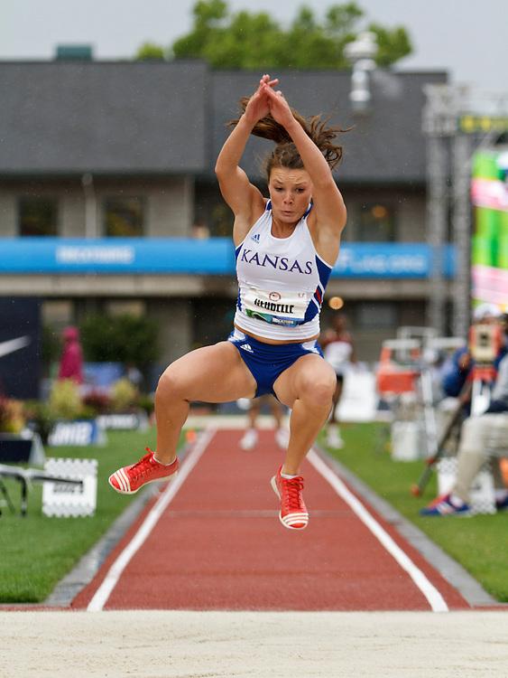 Womens' Triple Jump, Andrea Geubelle