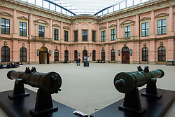 The courtyard of the Zeughaus at Berlin History Museum, Germany