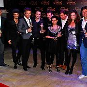 NLD/Amsterdam/20100322 -  Uitreiking Rembrandt Awards 2009, alle Rembrandt winnaars
