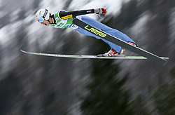 Lukasz Rutkowski (POL) at Flying Hill Team in 3rd day of 32nd World Cup Competition of FIS World Cup Ski Jumping Final in Planica, Slovenia, on March 21, 2009. (Photo by Vid Ponikvar / Sportida)