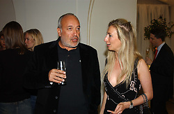 STEPHEN MARKS of French Connection and JENNY HALPERN<br />