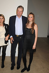 Left to right,  VIOLET VON WESTENHOLZ, the MARQUESS OF WORCESTER and his daughter LADY BELLA SOMERSET at the Quintessentailly Summer Party at the Phillips de Pury Gallery, 9 Howick Place, London on 9th July 2008.<br /><br />NON EXCLUSIVE - WORLD RIGHTS