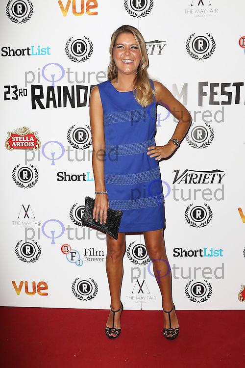 Gemma Oaten, Raindance Film Festival: My Hero - UK film premiere, Vue Piccadilly, London UK, 25 September 2015, Photo by Richard Goldschmidt