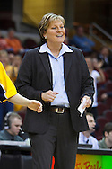 13 March 2010:   Toledo Head Coach Tricia Cullop during the MAC Tournament game basketball game between Ball State and Toledo and  at Quicken Loans Arena in Cleveland, Ohio.