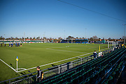 Privett Park Football Stadium during the The FA Cup match between Gosport Borough and Colchester United at Privett Park, Gosport, United Kingdom on 9 November 2014.