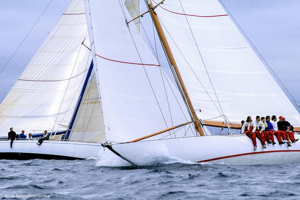 Sovereign K12, Tomahawk, voile, 12M, Jauge internationale,Régate St Tropez