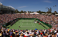 MELBOURNE, AUSTRALIA - JANUARY 23:  General view of Margaret court arena as James Blake of USA plays Olivier Patience of France during day five of the Australian Open January 23, 2004 in Melbourne, Australia. (Photo by Lars Mueller/Sportsbeat) *** Local Caption *** -