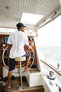 Aboard the Meta IV, Mergui Archipelago.