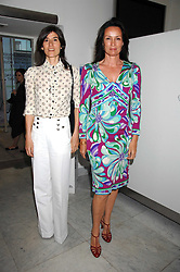 Left to right, BELLA FREUD and TRICIA SIMONON at a reception hosted by Vogue magazine to launch photographer Tim Walker's book 'Pictures' sponsored by Nude, held at The Design Museum, Shad Thames, London SE1 on 8th May 2008.<br />