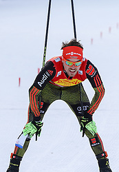 17.12.2016, Nordische Arena, Ramsau, AUT, FIS Weltcup Nordische Kombination, Langlauf, im Bild Fabian Riessle (GER) im Ziel // Fabian Riessle of Germany in the finish area during Cross Country Competition of FIS Nordic Combined World Cup, at the Nordic Arena in Ramsau, Austria on 2016/12/17. EXPA Pictures © 2016, PhotoCredit: EXPA/ Martin Huber