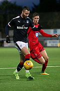 17/10/2017 - Dundee v Falkirk in the SPFL Development League at Links Park, Montrose; Dundee's Marcus Haber