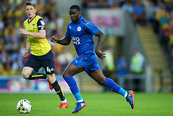 Jeffrey Schlupp of Leicester City in action - Mandatory byline: Jason Brown/JMP - 19/07/2016 - FOOTBALL - Oxford, Kassam Stadium - Oxford United v Leicester City - Pre Season Friendly