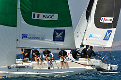 Pace and Morvan in the quarter finals. Photo: Chris Davies/WMRT
