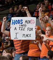 The University of Virginia Cavaliers defeated the Miami Hurricanes Men's Basketball Team 81-70 at the John Paul Jones Arena in Charlottesville, VA on February 3, 2007..