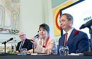 Brexit Party launch event<br /> Nigel Farage and Richard Tice, party chairman launch the next tranche of Brexit Party candidates at an event in London, Great Britain <br /> House Terrace<br /> 23rd April 2019<br /> <br /> New candidates standing for the Brexit Party in the European Parliament Elections in May 2019 <br /> <br /> <br /> <br /> Claire Fox<br /> Writer, free speech campaigner <br /> <br /> Photograph by Elliott Franks